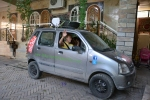John und Magdalena nehmen an der Mongol Rally teil- all the best for your suspension!