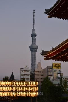 Geschichte trifft Moderne- Tokio