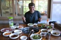 Mittagessen auf koreanisch