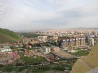 Blick über Ulan Bator, der Hauptstadt der Mongolei.