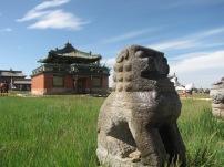 Gesichter der Mongolei- Tempelanlage von Karakorum